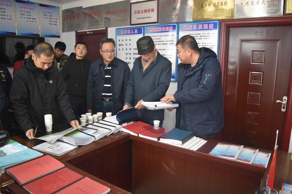 省农村人居环境整治督导检查组深入到三卡乡进行检查