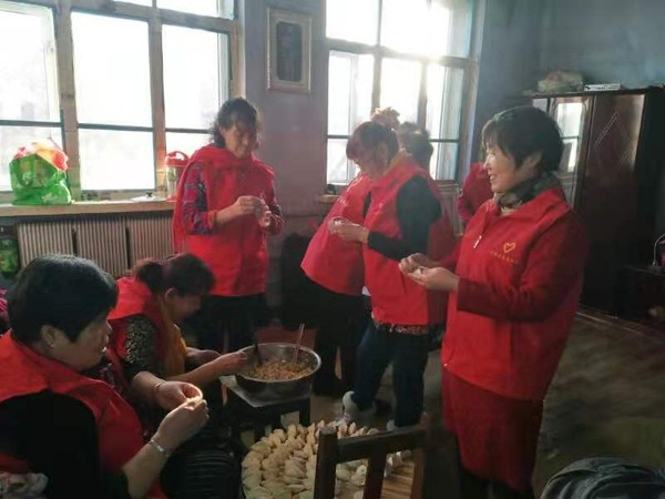 志愿信誉安全平台江苏快3开奖暖人心 爱心饺子包起来