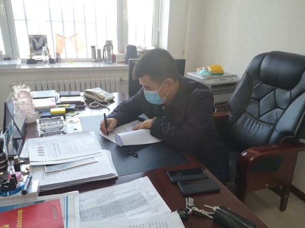 呼玛县自然资源局疫情防控期间 信誉安全平台江苏快3开奖不打烊保障重点项目建设