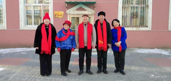 抗疫除旧岁  网欢迎新春----长虹社区合唱团开展线上云联欢活动